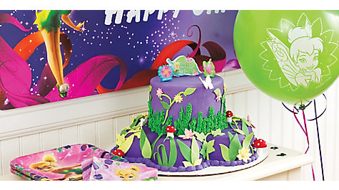 Tinker Bell Fondant Cake How To