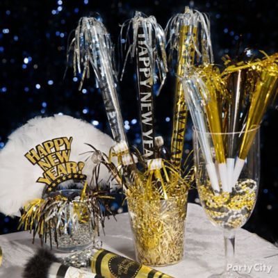 NYE Noisemakers Display Idea