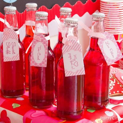 Personalized Valentines Day Potions Idea