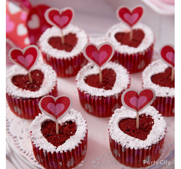 Lovestruck Red Velvet Cupcakes Idea