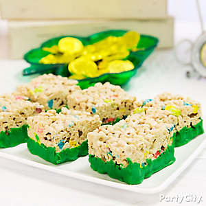 Dipped Cereal Treats Idea
