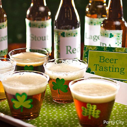 Irish Beer Tasting Party Idea
