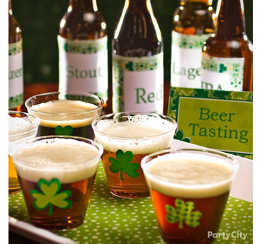 Irish Beer Tasting Party Idea