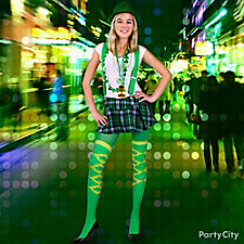 St. Paddy's Lucky Lass Outfit Idea
