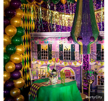 Mardi Gras Party Decorating Ideas & Mardi Gras Decorating Ideas - Party City | Party City