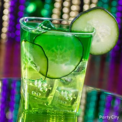 Green Hurricane Cocktail Recipe