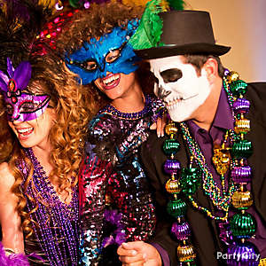 Mardi Gras Dress Up Ideas