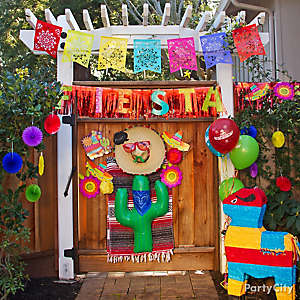 mexican party arch decorating ideas mexican party entrance decorating ideas