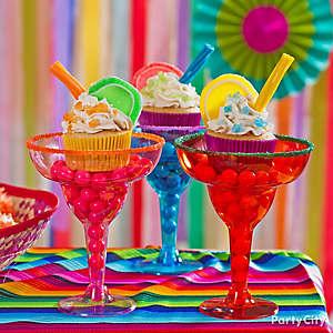 Cupcake Margaritas Idea