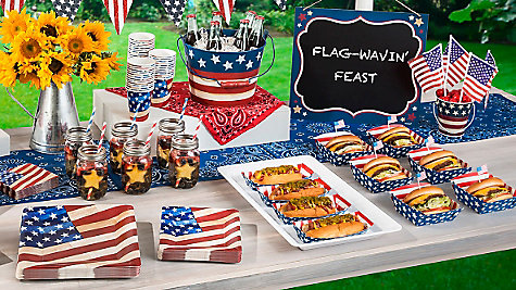 Perfect 4th of July Food & Drink Ideas