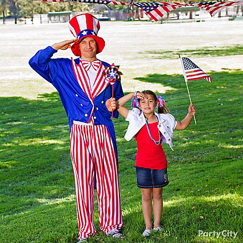 4th of July Uncle Sam Dress Up Idea