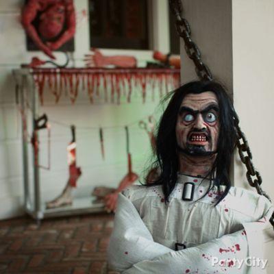 Halloween Asylum Bloody Patient Idea