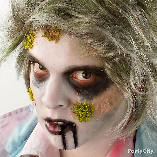 Mossy Zombie Makeup How To