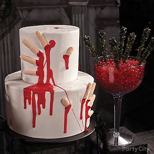 Bloody Good Severed Fingers Cake How To