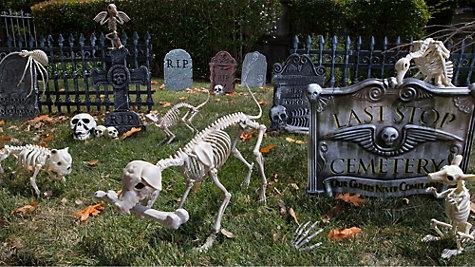 Cemetery Decorating Inspiration