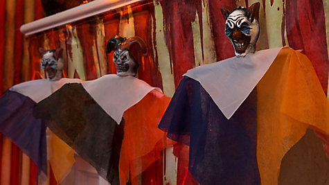 Creepy Carnival Decorating Ideas