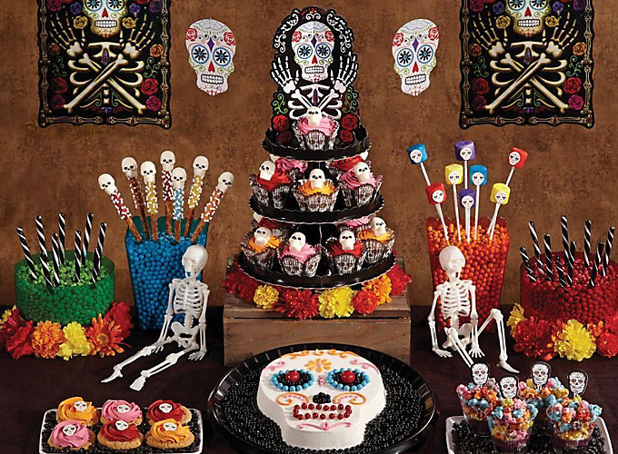 day of the dead dessert how tos - Day Of The Dead Halloween Decorations