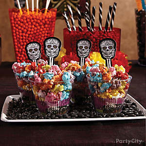Day of the Dead Popcorn How To