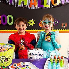 Halloween Class Favor Bar Idea