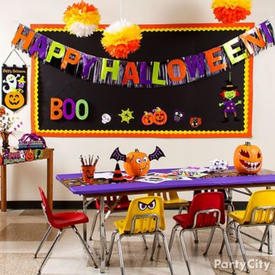 halloween classroom decorating idea - Halloween Classroom Decorations