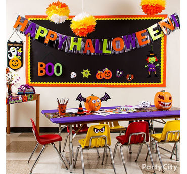 Halloween Classroom Decorating Idea