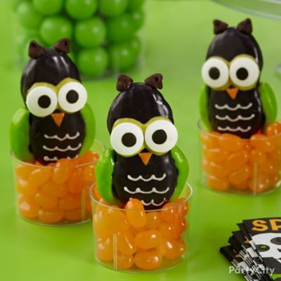 Friendly Candy Dipped Owl Cookies How To
