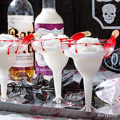 Halloween Bloody Pina Colada Cocktail Recipe