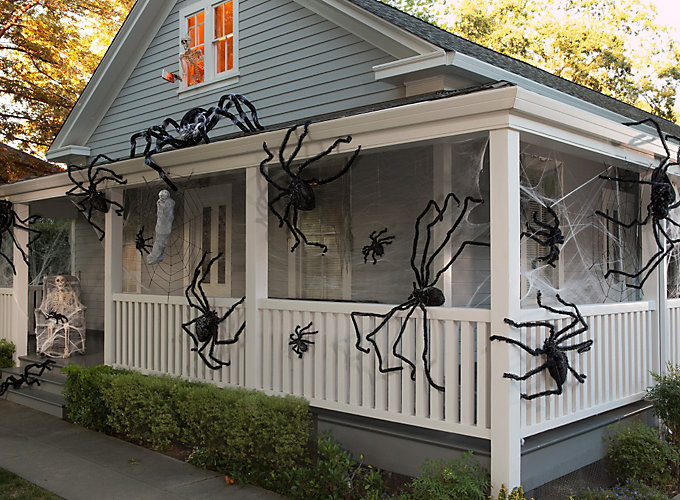spider halloween decorating ideas