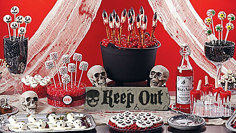 Scary Halloween Sweets & Treat Ideas