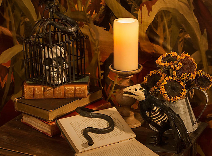 Scary Pumpkin Halloween Decorating Ideas