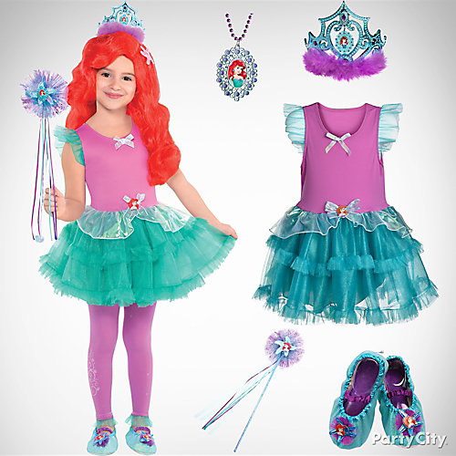 Girls' Little Mermaid Costume Idea