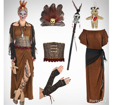 Women's Witch Doctor Costume Idea