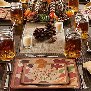 Rustic Place Setting Idea