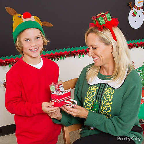 Holiday Ugly Sweater Dress Up Idea