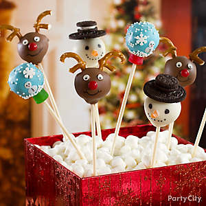 Snow Globe Cake Pops How To