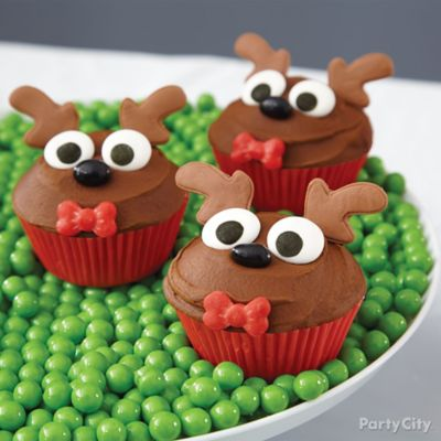 Reindeer Cupcakes How To
