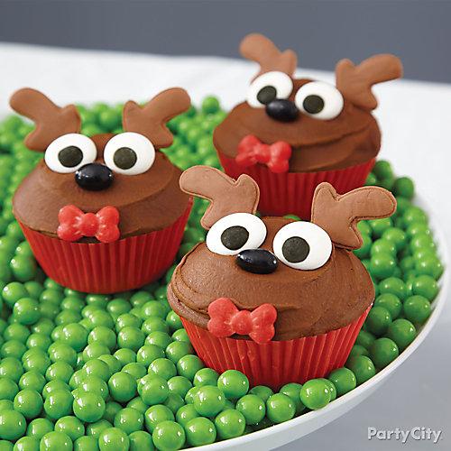 Reindeer Cupcakes How To