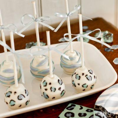 boy baby shower cake pop bouquet idea  party city, Baby shower invitation
