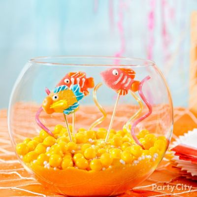 DIY Edible Candy Fish Bowl How To