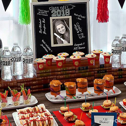 Graduation Mini Tasting Party Ideas