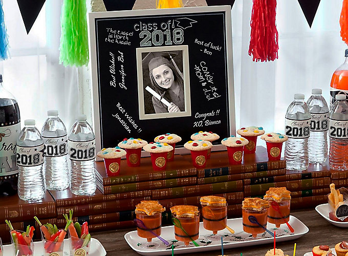 Get Inspired Graduation Mini Tasting Table Idea
