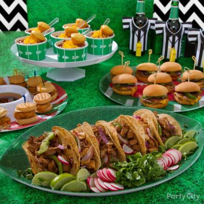 Easy football party finger food recipes