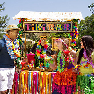 Luau Tiki Bar Idea