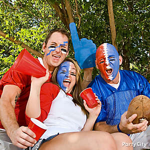 Football Tailgating Face Paint Ideas