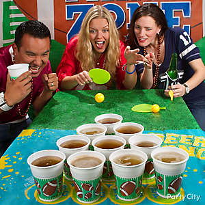 Beer Pong Game Idea