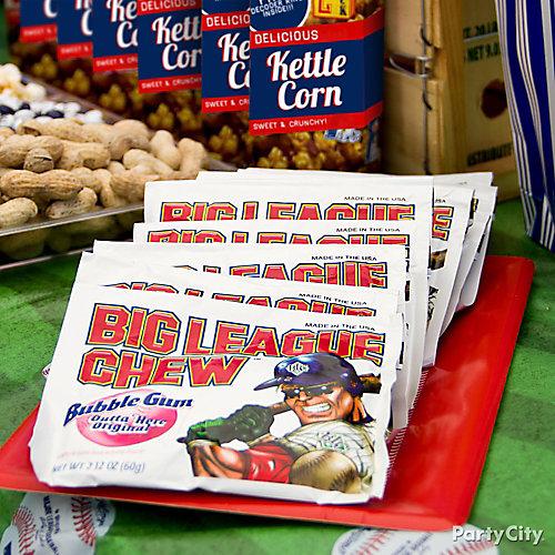 Baseball Bubble Gum Idea