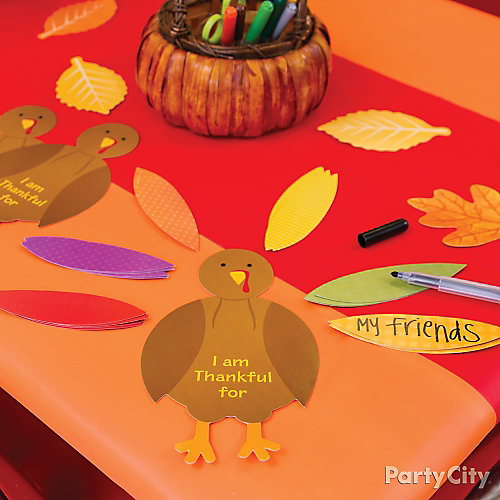 Kids Thanksgiving Activity Idea