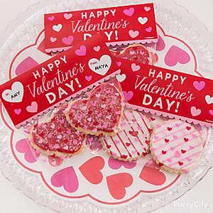 Heart Cookie Favor Idea