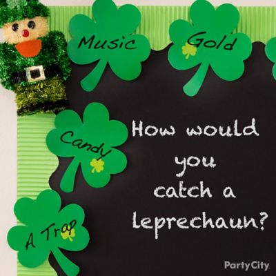 St. Patricks Day Chalkboard Idea