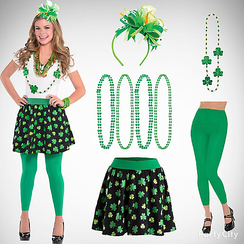 St. Patricks Dressy Outfit Idea